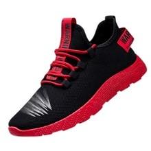 Puimentiua zapatillas transpirables para Hombre Zapatos vulcanizables antideslizantes para Hombre Zapatos casuales resistentes al desgaste de malla de aire para hombre Tenis Masculino