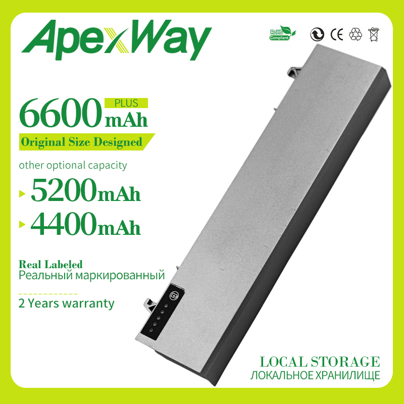 Apexway Laptop Battery For DELL Latitude E6410 E6510 E6400 E6500 M2400 M4400 M6400 E8400 PT434 W1193 KY477 U844G NM631 FU571 image