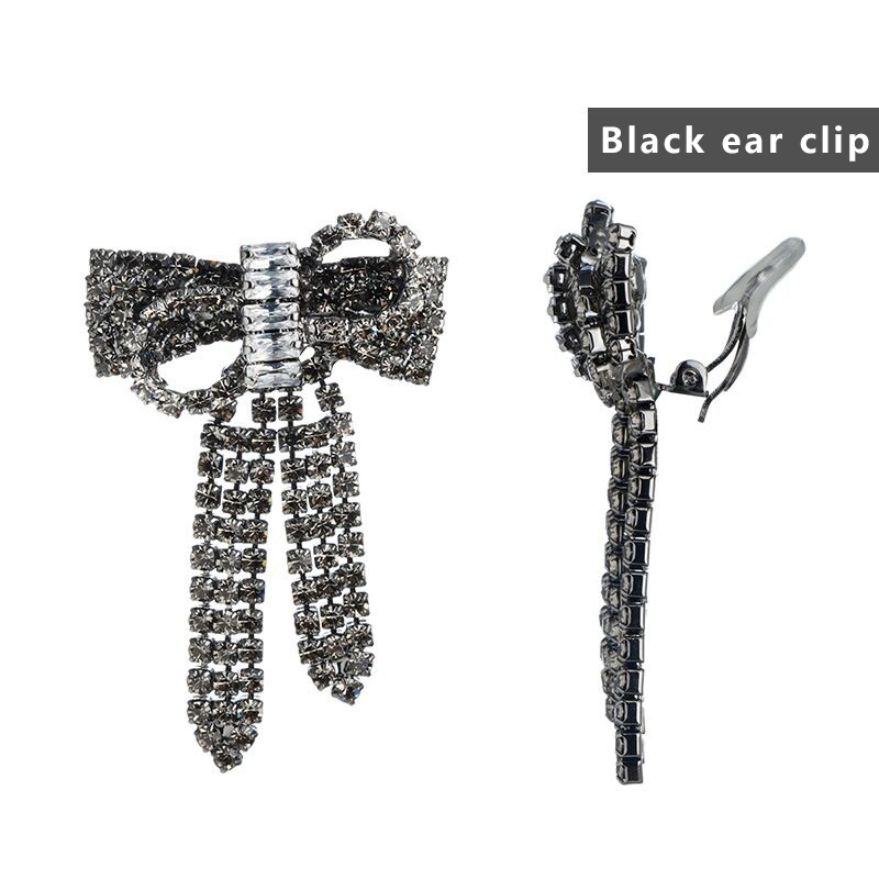 Black ear clip