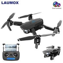 LAUMOX SG901 Радиоуправляемый Дрон 4K 1080P HD камера оптический поток WiFi FPV Профессиональный Дрон Квадрокоптер вертолет дроны 18 минут VS XS816