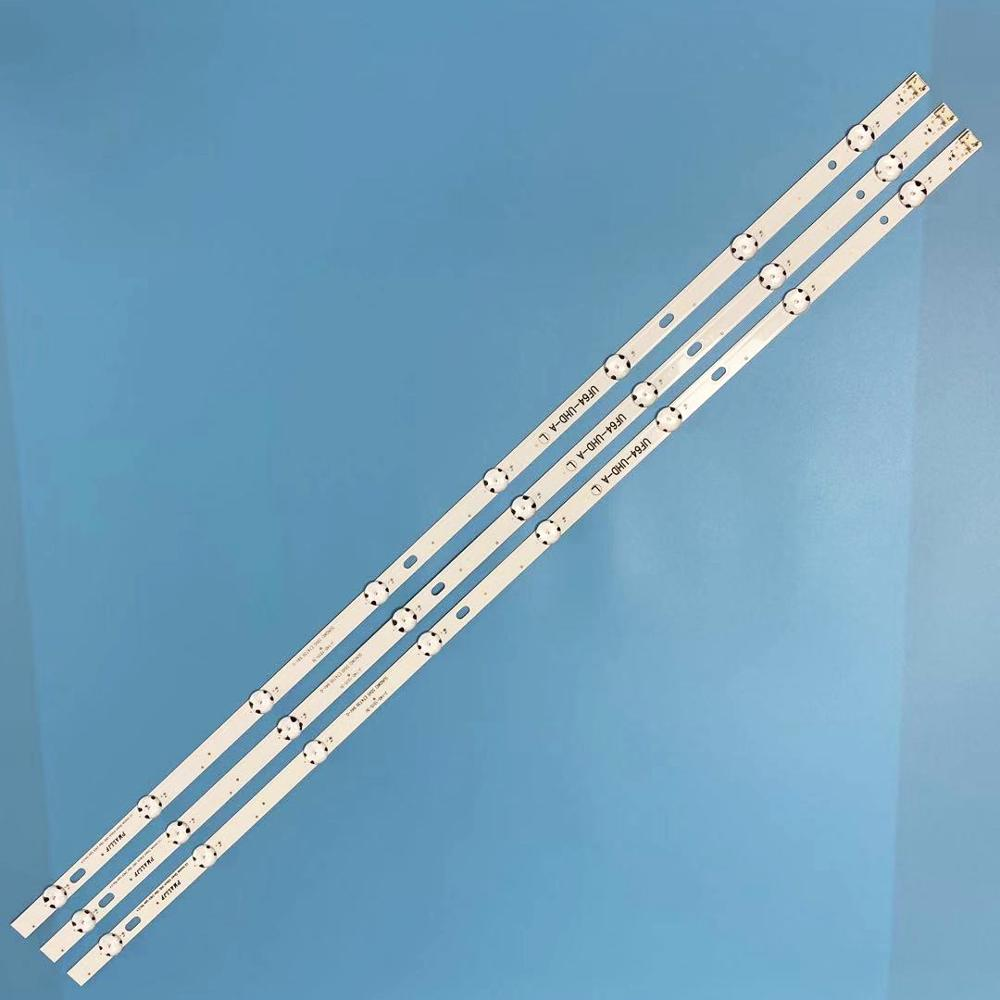 LED Backlight strip 8 lamp 43LH60_FHD_A For LG Innotek 16Y 43inch FHD 43UH603V-ZA 43UH610V-ZA <font><b>43UH620V</b></font>-ZA 43UH6100 43UH6200 image
