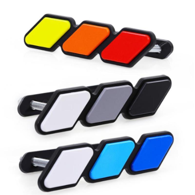 Автомобильный аксессуар в трехцветную наклейки для автомобиля Авто решетка Автомобильная наклейка с эмблемой наклейка оптовые продажи Де...