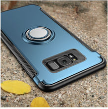 For Samsung Galaxy S7 Edge S8 S9 S10 Plus 5G Note 9 10 Pro case Magnetic Ring Armor Case for J3 J5 J7 2017 J4 J6 Plus J8 2018