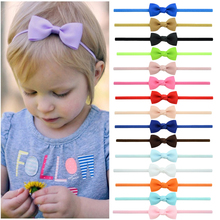 baby girl headband Infant hair accessories clothes band bows Tie newborn Headwear tiara headwrap hairband Gift Toddlers стоимость