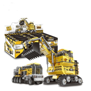 In Stock 13002 Excavator Technic 8 In 1 Toy The Giant Excavator Set Building Blocks Bricks Model Kids Christmas Toys Octonauts