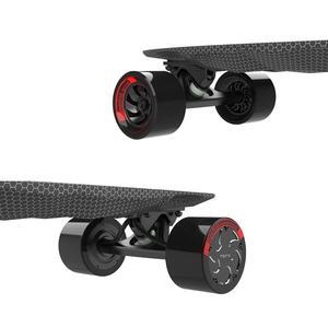 "Image 4 - Maxfind max 2 pro edição limitada skate elétrico longboard escuro 31 ""23 mph velocidade superior 16 milhas max faixa do motor duplo"