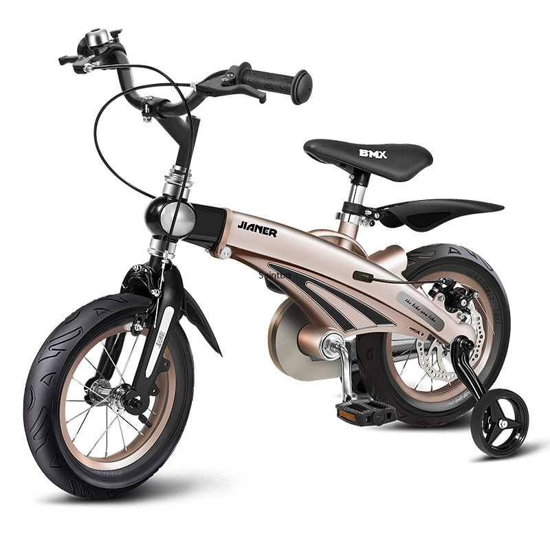 12-inch 14-inch 16-inch Children's Bicycles Children's Mountain Bikes 4 Colors Options Portable Light Kids' Bicycles