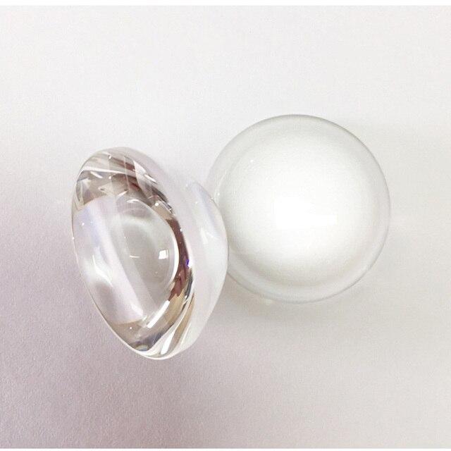25.4mm verre optique Double lentille convexe focale 16mm sondage focalisation lentilles Laser collimateur lenticulaire grossissant Lentes