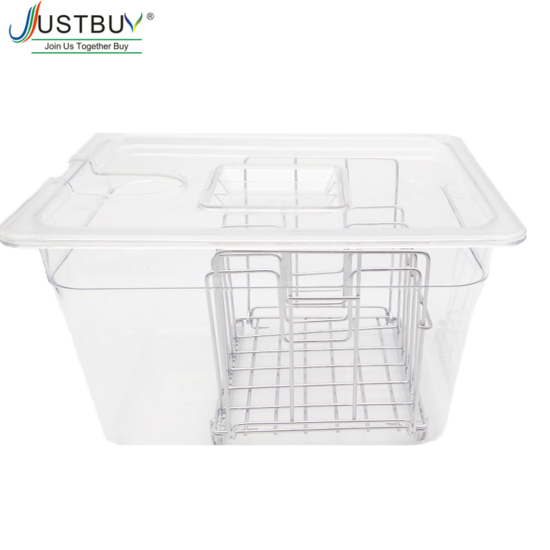 Sous Vide Cooker  Container With Lid For Circulator Sous Vide Culinary 11L Capacity Fit For Most Sous Vide