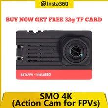Insta360 BETAFPV SMO 4K cámara de Deportes de Ultra luz gran angular cruzando máquina portátil para Beta95X V3 HD RC Cámara Drone FPV DJI