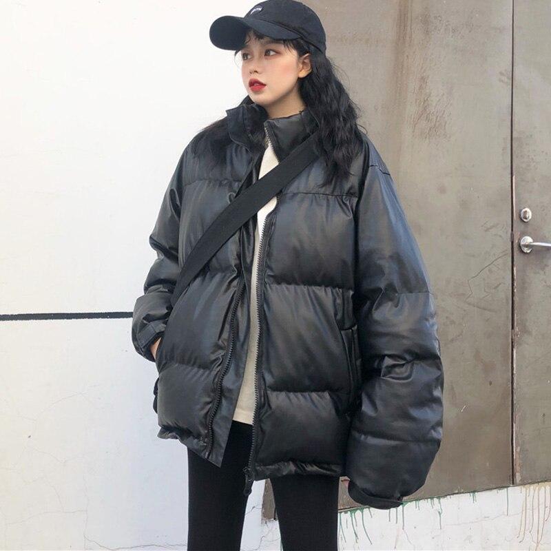 New Hip Hop 2020.Us 32 76 30 Off Cotton Plus Size Down Coat Winter 2020 New Loose Black Hip Hop Jacket Women Student Thick Long Down Parka On Aliexpress
