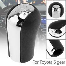 6 Speed ABS Manual Transmission Gear Shift Handball Knob fit for Toyota Corolla / Verso / Rav4 / Yaris  / Avensis