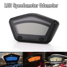12v Motorcycle LCD Digital Gauge Panel Speedometer Tachometer Odometer For Motorbike Scooter Motocross ATV enduro