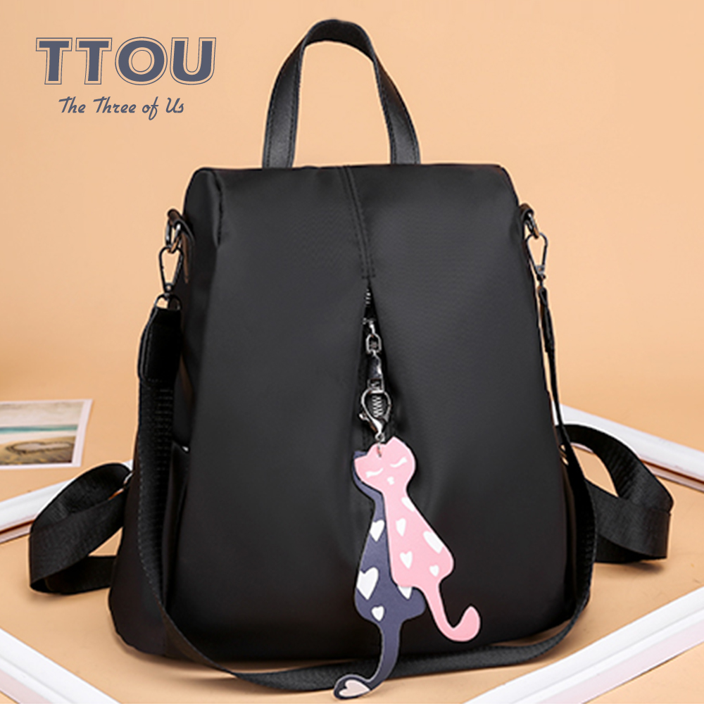 Fashion Brand Design Women Backpack Travel Bags Anti-Theft Vintage Leisure College Wind Backpack For Teenager Girls Mochila