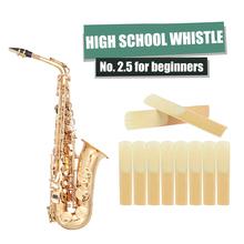 Stroiki do saksofonu altowego lekka przenośna siła muzyczna 2 5 e-flat Sax Instrument Reed Elements dla początkujących tanie tanio CN (pochodzenie) Saxophone Reeds for Beginners Sax Reed alto saxophone and clarinet