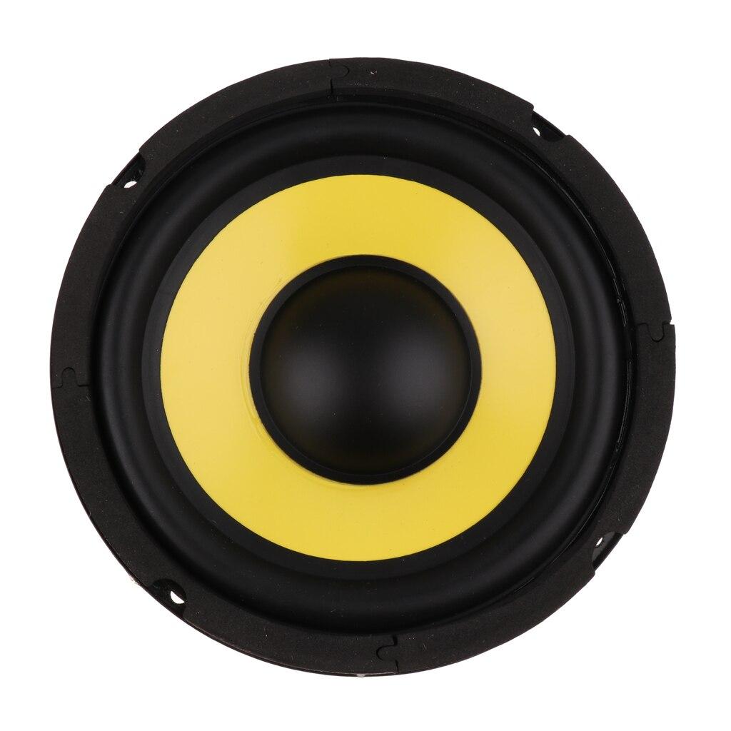 High Sensitivity 6.5 Inch 4Ohm 50W Audio Subwoofer Speaker Woofer Loudspeaker Bass Horn Magnet 100
