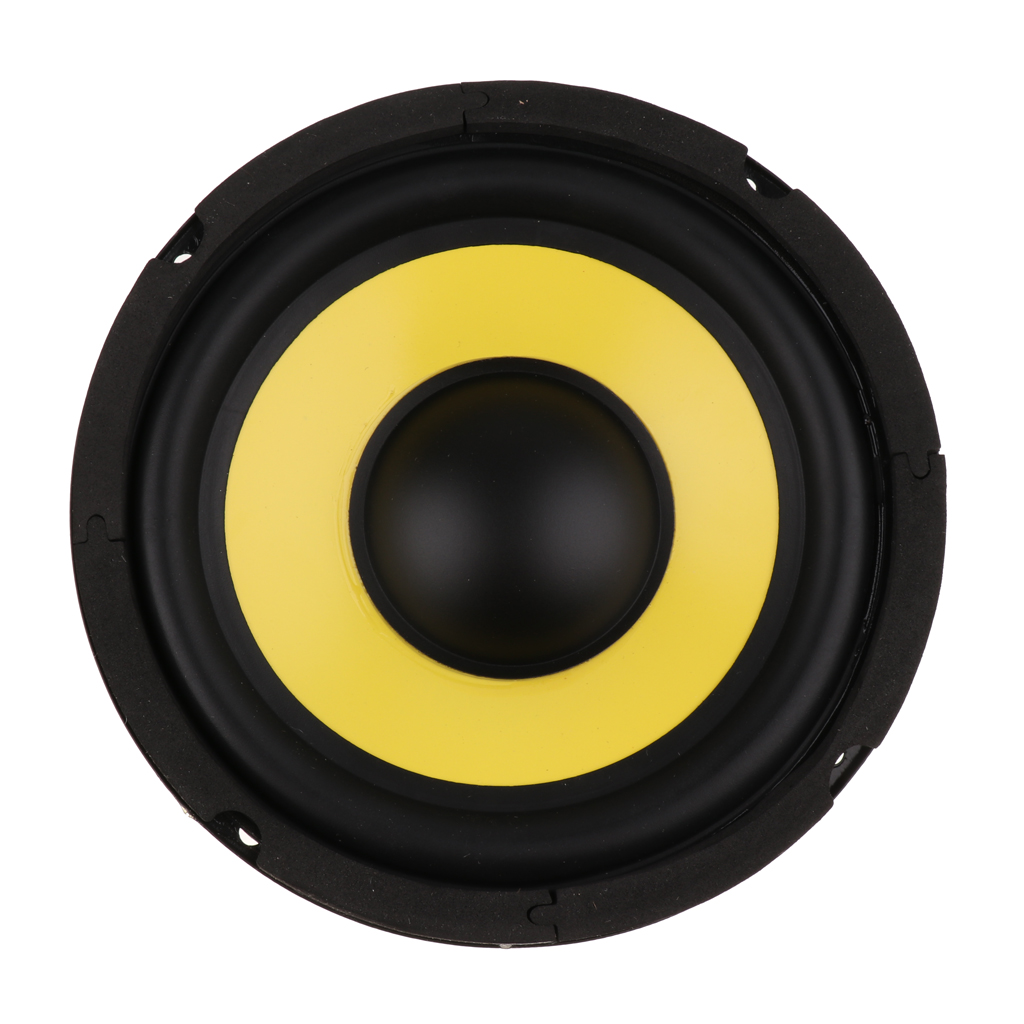 High Sensitivity 6.5 inch 4Ohm <font><b>50W</b></font> Audio Subwoofer <font><b>Speaker</b></font> Woofer Loudspeaker Bass Horn Magnet 100 image