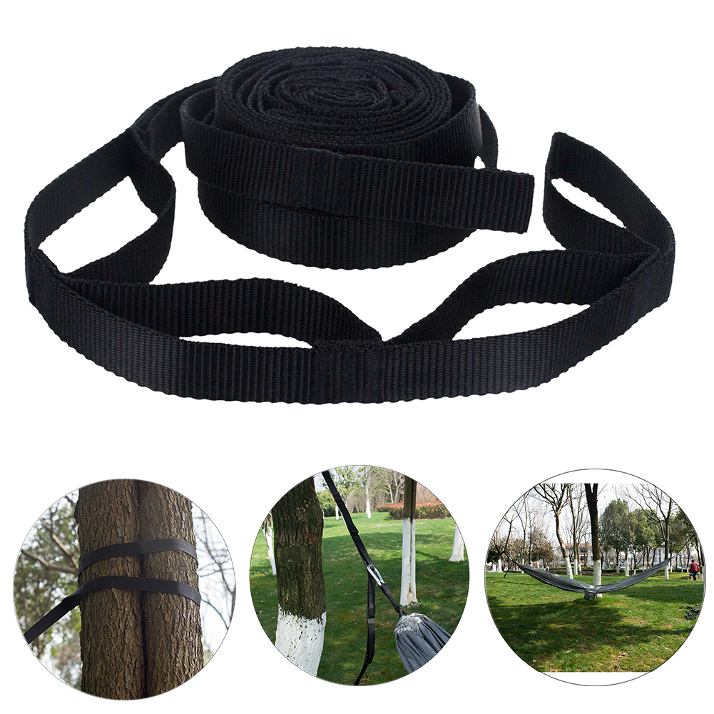 2Pcs 200cm Tree Hanging Garden Adjustable Hammock Strap Park Tied Rope Aerial Portable Yoga Hiking Camping Accessories Outdoor