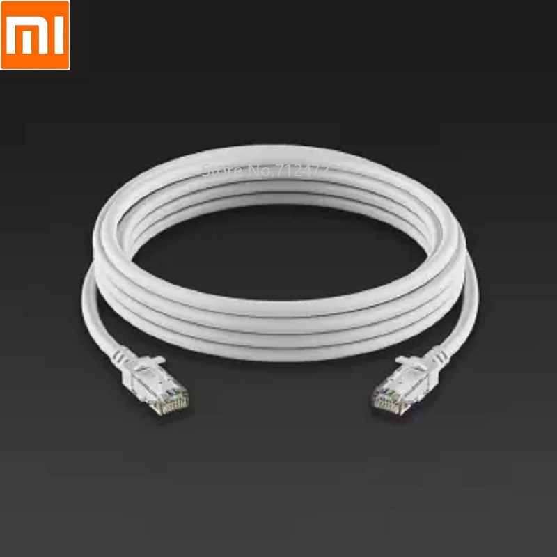 Xiaomi New CAT6 Gigabit Ethernet Network Cable RJ45 Network Port Lan Cable 1000Mbp Stable For PC Router Laptop 1M 2M