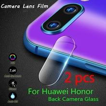 2 pcs! Phone Lens Glass for Huawei Honor 10 9 Lite 8 Pro Note 10 8 Camera Lens Protector for Honor Play View 20 10 Lite original rear camera lens for huawei honor 20 pro camera glass lens back camera frame for honor 20 10i 20i camera lens frame