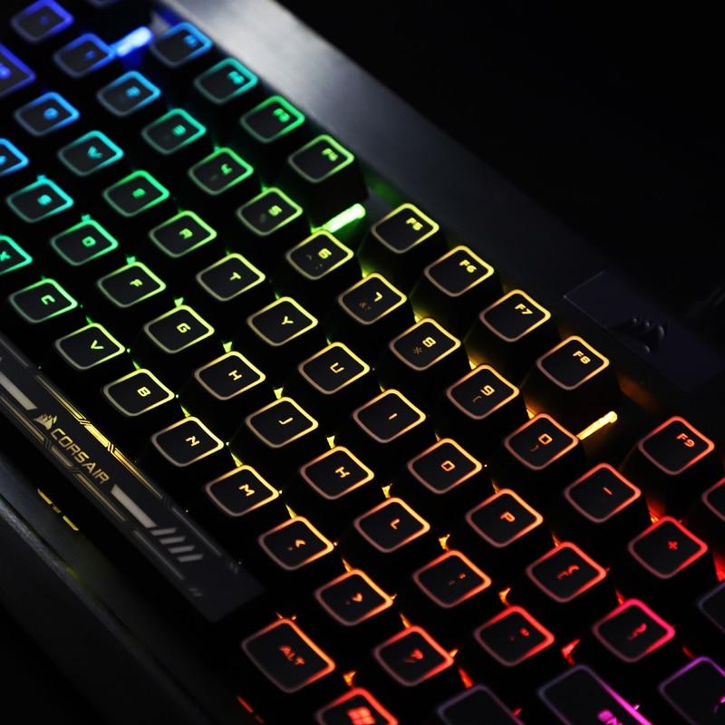 1 set black hole coating backlit keycap for Corsair Razer Cherry ROG mechanical keyboard SWS keycaps for 1% player
