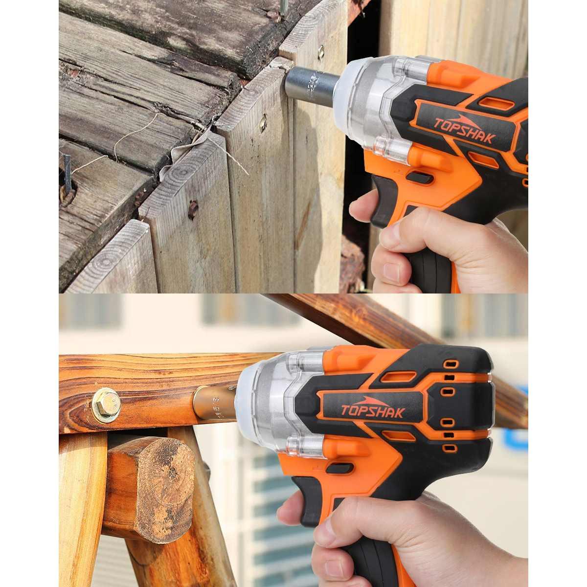 da madeira da chave de impacto elétrica