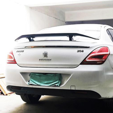 Spoiler Peugeot 407 Wing for 408 TF High-Quality Abs-Material Car-Rear Primer-Color