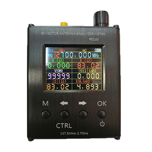 Mới 137.5MHz 2.7 GHz UV RF Vector Trở Kháng Kiến SWR Ăng Ten Phân Tích N1201SA
