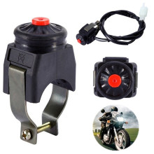 1 sztuk uniwersalny motocykl zabić przełącznik czerwony przycisk Horn Starter motor terenowy ATV UTV podwójny Sport do 22mm kierownica do montażu na ścianie bary