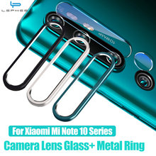 Camera Protector Glas Op Voor Xiaomi Mi Note 10 9 Pro 5G 9 Lite 9T Gehard Glas Metalen camera Lens Beschermende Ring Cover Case(China)