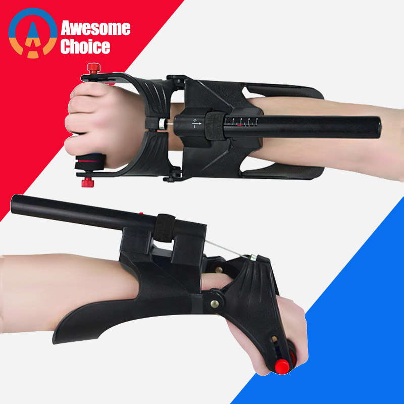 Adjustable Power Hand Grip Arm Trainer Adjustable Forearm Hand Wrist Exercises Trainer Strengthener Grip Bodybuilding Fitness