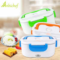 Electric Heating Lunch Box Portable Kids Food Container Food-Grade Thermos Lunch Box Bento Box With Dinnerware For Home Office