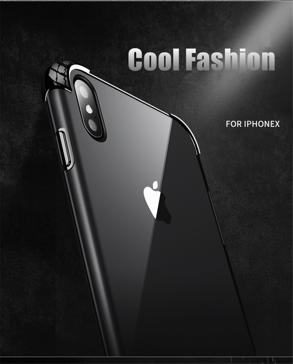 H16af6746eb1e41078ee2b16dfdd63a693 - USLION Shockproof Armor Clear Case For iPhone 11 Pro Max XS Max XR X 8 7 6 6s Plus 5 5s SE Transparent Phone Cases Airbag Cover