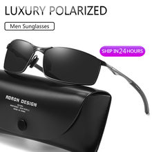 Luxury Polarized Sunglasses Men 2020 Alloy Frame Men Sunglasses Mirror Eyewear Mens Sunglasses Glasses For Men
