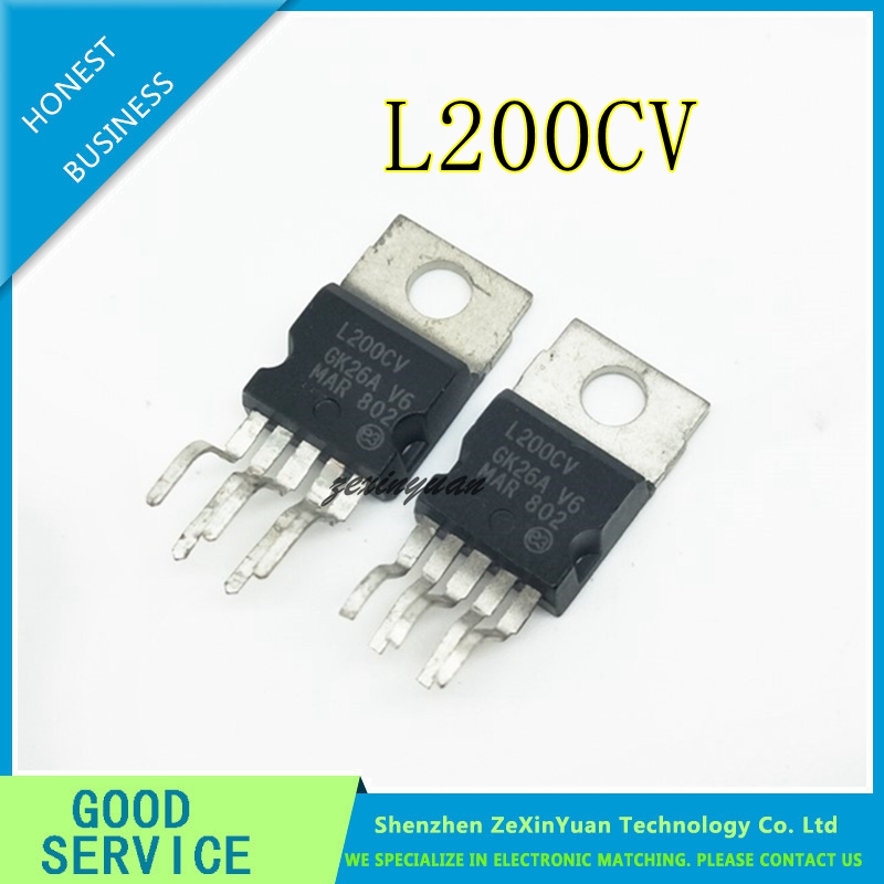 5PCS/LOT L200C TO-220 L200CV L200 TO220 Original IC 100% Quality