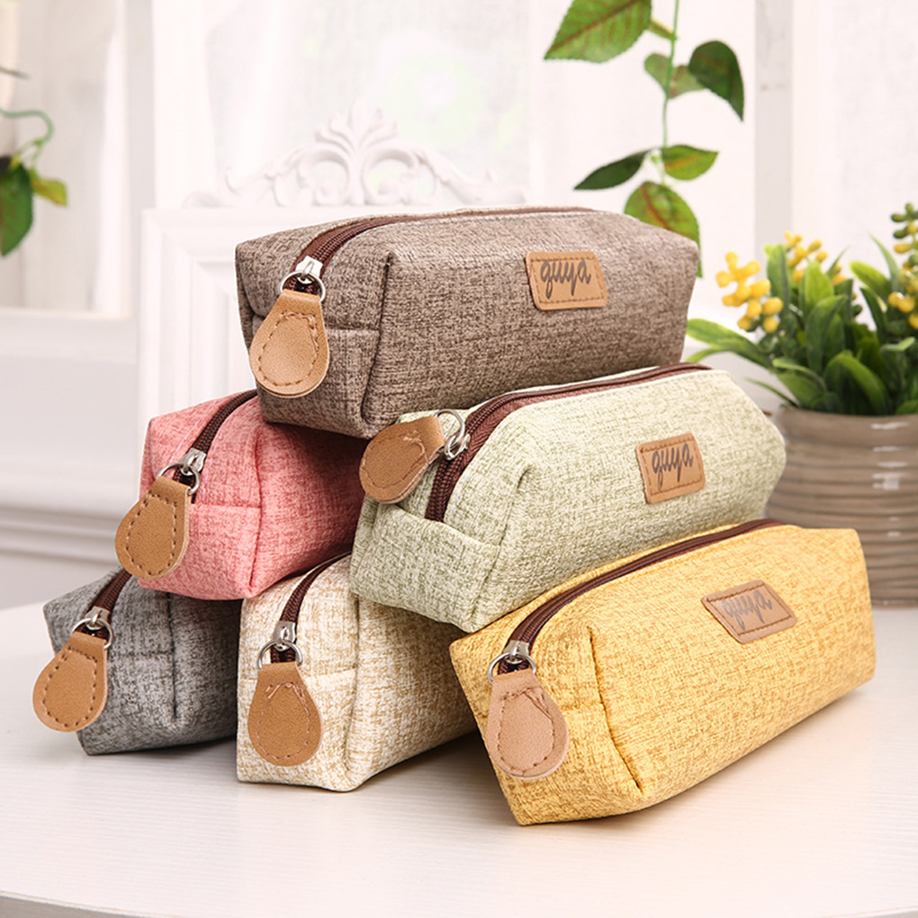 Girls Boys Pencil Case Large Capacity Pencil Stationery Pouch Bag Men Women Cosmetic Makeup Bag Organizer