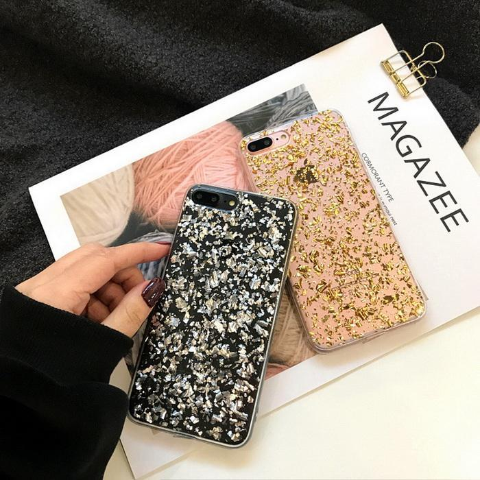 H16b0a00efb23425386e8922a0945ef7bz - GIMFUN Star Bling Glitter Phone Case for Iphone 11 Pro Max Clear Back Love Heart tpu Case Cover for Iphone Xr X 7 6 8 Plus 5s SE