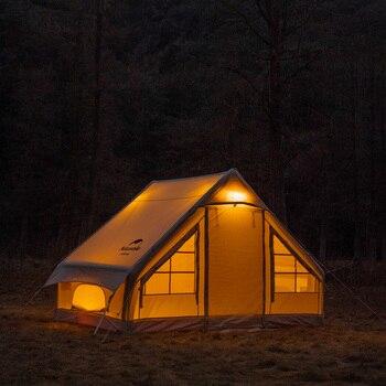 Naturehike – tente gonflable en coton pour 1 à 2 personnes, abri de soleil imperméable pour l'extérieur, randonnée voyage, 6.3 2