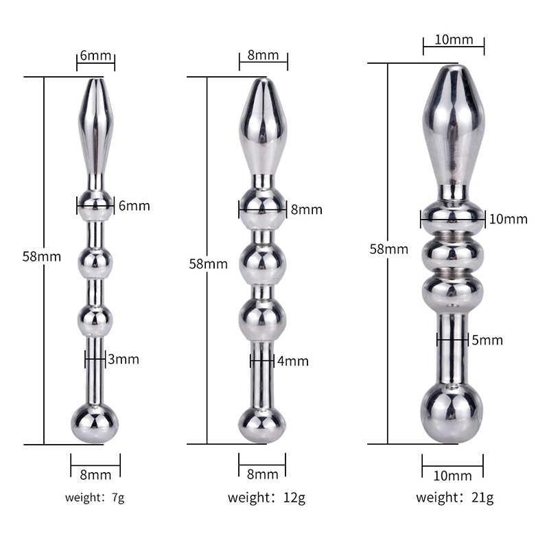 Masculino pênis plug uretra cateter dilatador massagem uretra som adulto jogos sexuais brinquedo para homem acessórios eróticos masturbação