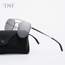 Tnt круглые солнцезащитные очки в стиле стимпанк фирменный дизайн