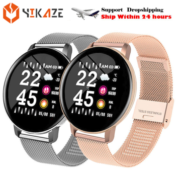 Smart Watch Round Sports Waterproof Smartwatch Men Women Fitness Tracker Blood Pressure Monitor SmartWatch Clock fo Xiaomi PK P8 1