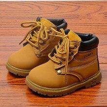 Fashion Children Martin Boots Toddler Boys Boots