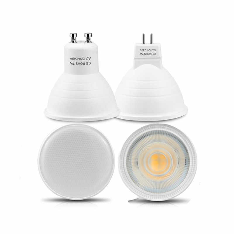 GU10 MR16 6w LED Bulb Lamp 120 /24 Degree  220v AC Bombillas Lampada LED Spotlight light