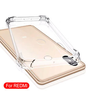 Shockproof-Case Xiaomi Redmi Transparent Luxury for Note-9/8-7/6-5/.. K20 K30-Pro 5a