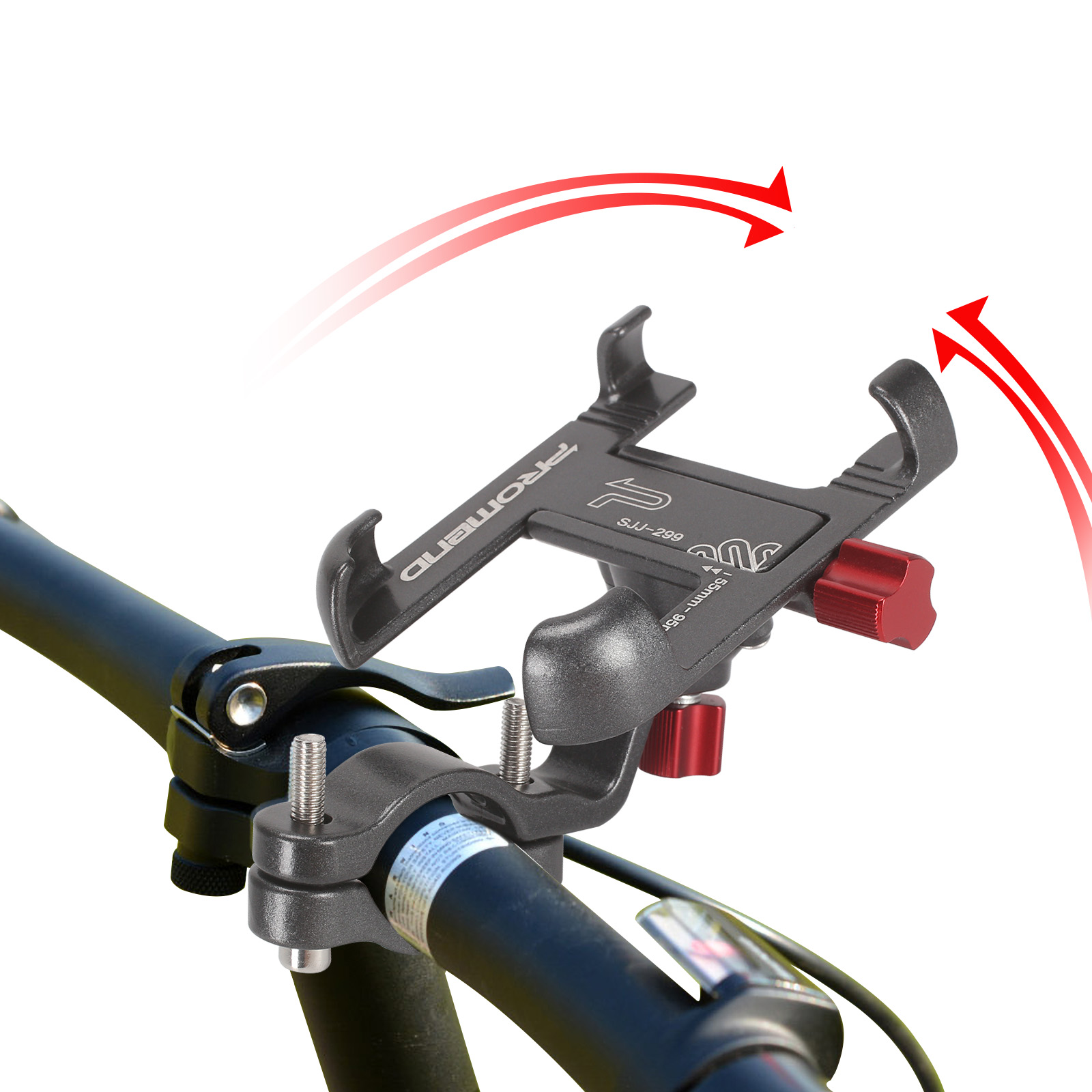 Promend Bike Mobile Phone Holder With 360 Degree Rotatable For Bike Car Bicycle 8