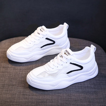 2019 Summer Spring Small White Shoes Female New Breathable Mesh Casual Single Tide Hollow Flat