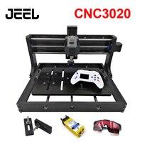DIY CNC 3020 조각 기계  목재 라우터  커터  레이저 조각사는 GRBL 제어 및 오프라인으로 사용할 수 있습니다