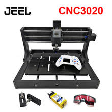 DIY CNC 3020 Engraving Machine,Wood Router,Cutter, Laser Engraver Can Use  With GRBL Control And Offline