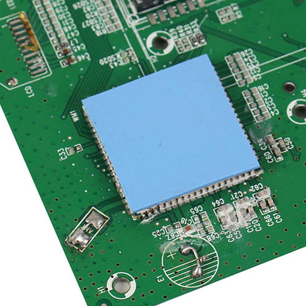 Xanh dương Nhiệt Dẫn Điện Cho Tản Nhiệt Laptop Miếng Lót Silicone Không Cắt Có Thể Tái Sử Dụng Tấm Làm Mát CPU Hấp Thụ Sốc Phim Mềm Mại