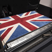 Car Inter Rear Trunk Cargo Dirty Mat Pad Cover Union Jack Protector Carpet Decor for Smart 451 453 fortwo forfour Accessories